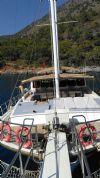 Ertan 1 Gulet Yacht, Front Deck Sunbathing.