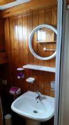 Tesero Yacht, Bathroom.